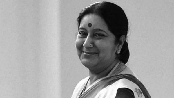 भारतीय पूर्व विदेशमन्त्री स्वराजको निधन, प्रधानमन्त्री ओलीद्वारा दु:ख व्यक्त
